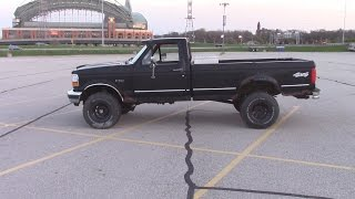 F150 4 Inch Suspension Lift Kit Install 1992 Rough Country