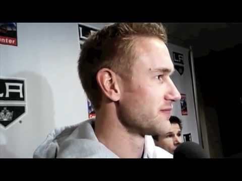 Jeff Carter - 1st interview as an L.A. King