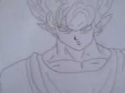 Como Dibujar a Goku