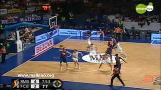 Real Madrid - Barcelona ACB 2009-10 Week 14 Part 1