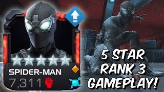 5 Star Rank 3 Spider-Man Stealth Suit (Far From Home) Gameplay - Marvel Contest of Champions