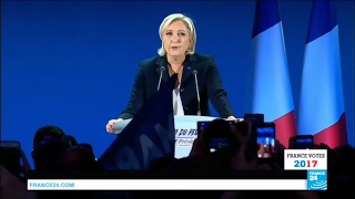 "Marine Le Pen: ""The first step to lead the French people to the Élysée Palace has been achieved!"""