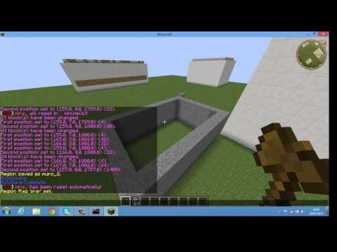 Minecraft plugins - World Guard World Edit