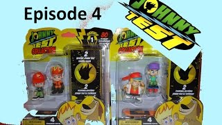 JOHNNY TEST Unboxing EPISODE 4 SERIES 1 Mystery 2 Blind Box RARE Figurines set