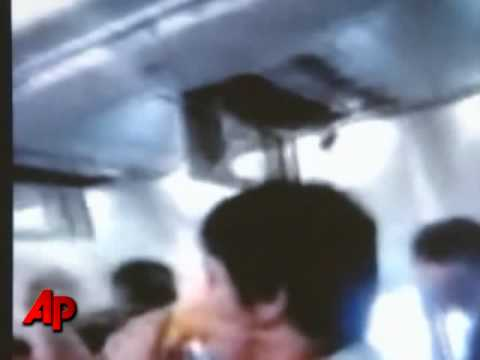 Raw Video: Hole Opens in Jet at 30,000 Feet