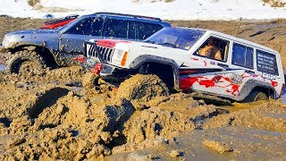 Rescue of Winches Stuck in Extreme MUD Radio Control Cars — RC Extreme Pictures