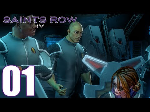 Saints Row 4 Walkthrough Part 1: Zero Saint's Thirty Gameplay Let's Play