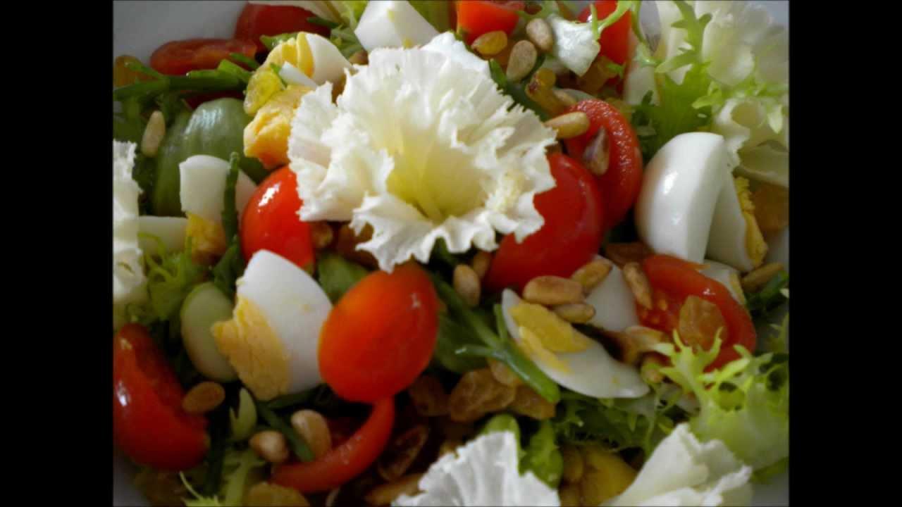 Recette Salade fraîcheur et légère/Recipe salad freshness and light ...