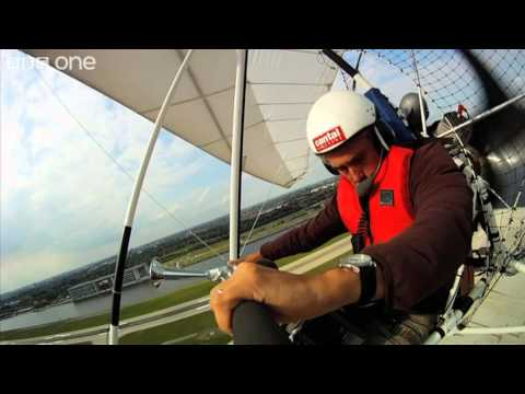 Barnacle Geese Flying Over London (Behind the Scenes) - Earthflight - BBC One