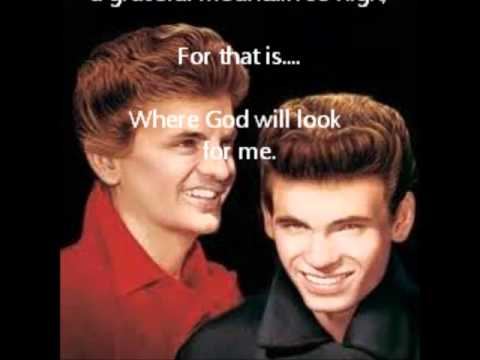 The Everly Brothers-Kentucky,with lyrics