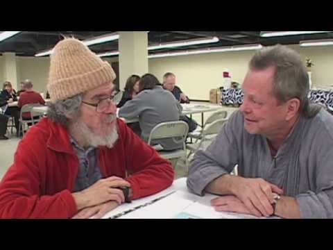 Terry Gilliam & Mick Burrs, Filmmaker and Poet Reunion