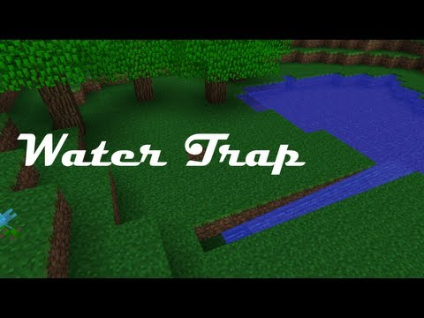 How to Make a Water Trap in Minecraft Pocket Edition