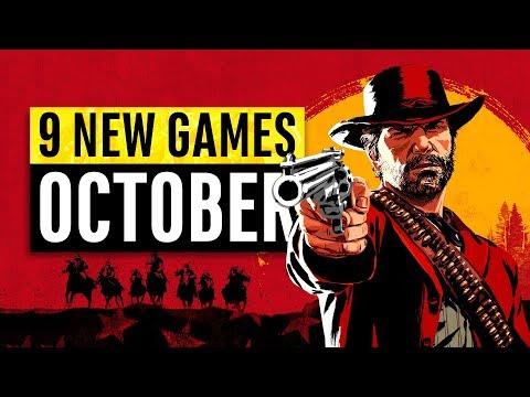 9 New Games Arriving In October 2018