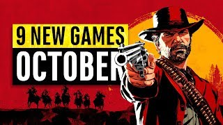 9 New Games Arriving In October 2018