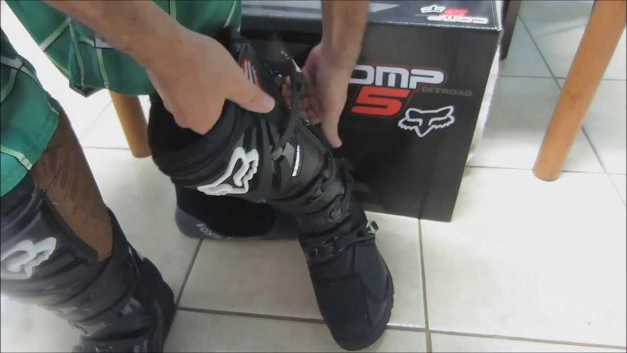 Comp 5 Shorty Boots Unboxing my Fox Comp 5 Boots