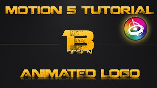 Motion Tutorial | Create an animated logo