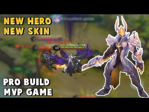 NEW HERO ARGUS LEGEND GAMEPLAY + PRO BUILD - Mobile Legends
