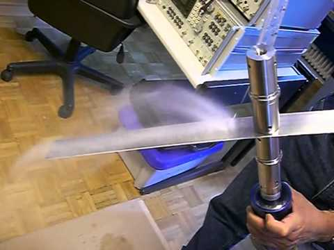 Vibrating plate atomizer CIMG2839