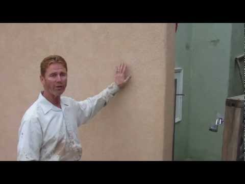 Installing a color coat stucco over a painted exterior finish