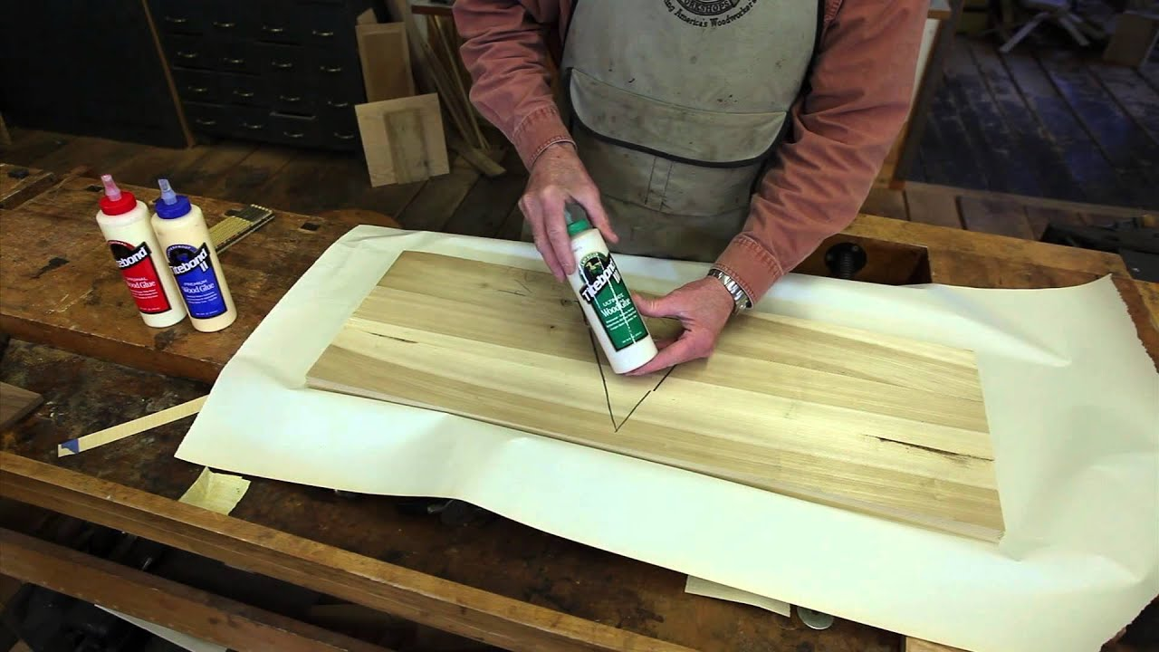 Tips for Successful Wood Panel Glue-Up - YouTube