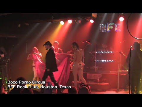 Bozo Porno Circus Song 9 At Bfe Rock Club In Houston, Texas video