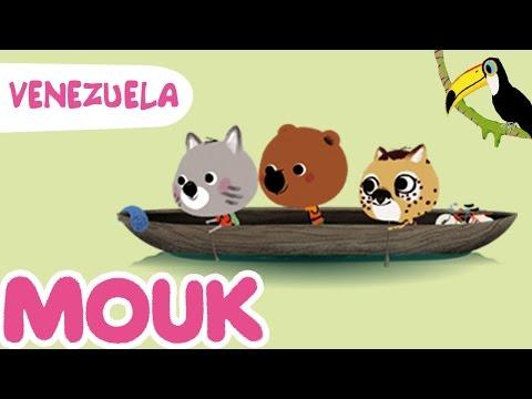 Mouk discovers Venezuela - 30 minutes compilation HD   Cartoon for kids