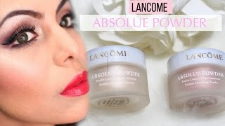 Lancome Absolue Smoothing Powder First Impression Demo Golden & Peche