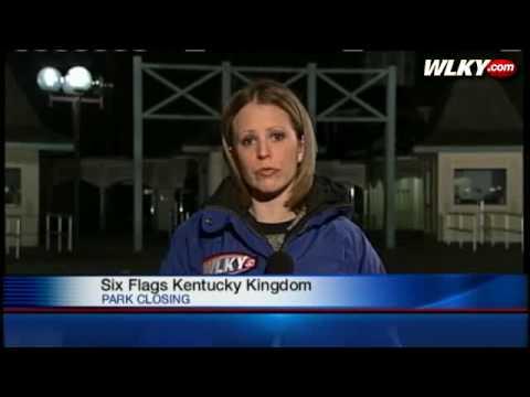 Six Flags Kentucky Kingdom Abandoned Six Flags Closing Kentucky