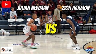 JULIAN NEWMAN vs ZION HARMON! The REMATCH! Julian Drops 45