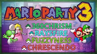 Mario Party 3 with Chrescendo, raysfire and Fuzzyness