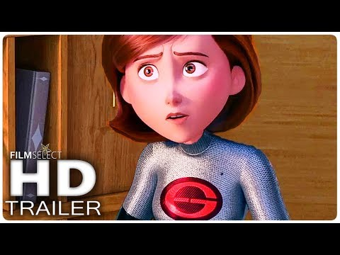 INCREDIBLES 2 Elastigirl New Suit Trailer (2018)