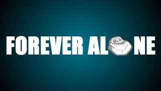 Forever alone - Justa Tee typography animation
