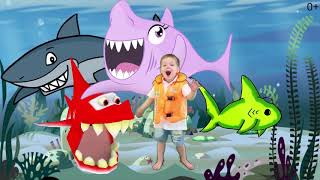 Baby Shark with John Kids Nursery Rhymes Songs for Babies