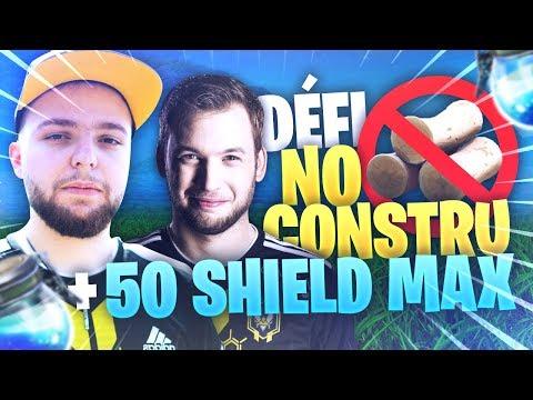 DÉFI 50 SHIELD MAX + NO CONSTRU' ! TRAINING BOOTCAMP ft MICKALOW