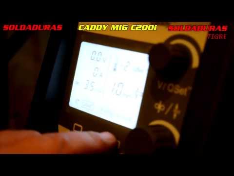CADDY MIG C200i TEST - SOLDADURAS