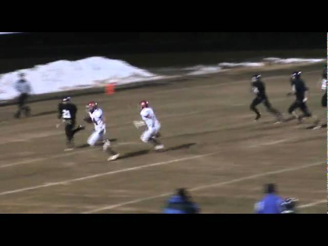11-4-11 - Tyler Carter scores from 19 yards out (Brush 21, Estes Park 0)
