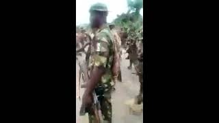 'Nigerian soldiers  torture IPOB members in Aba'