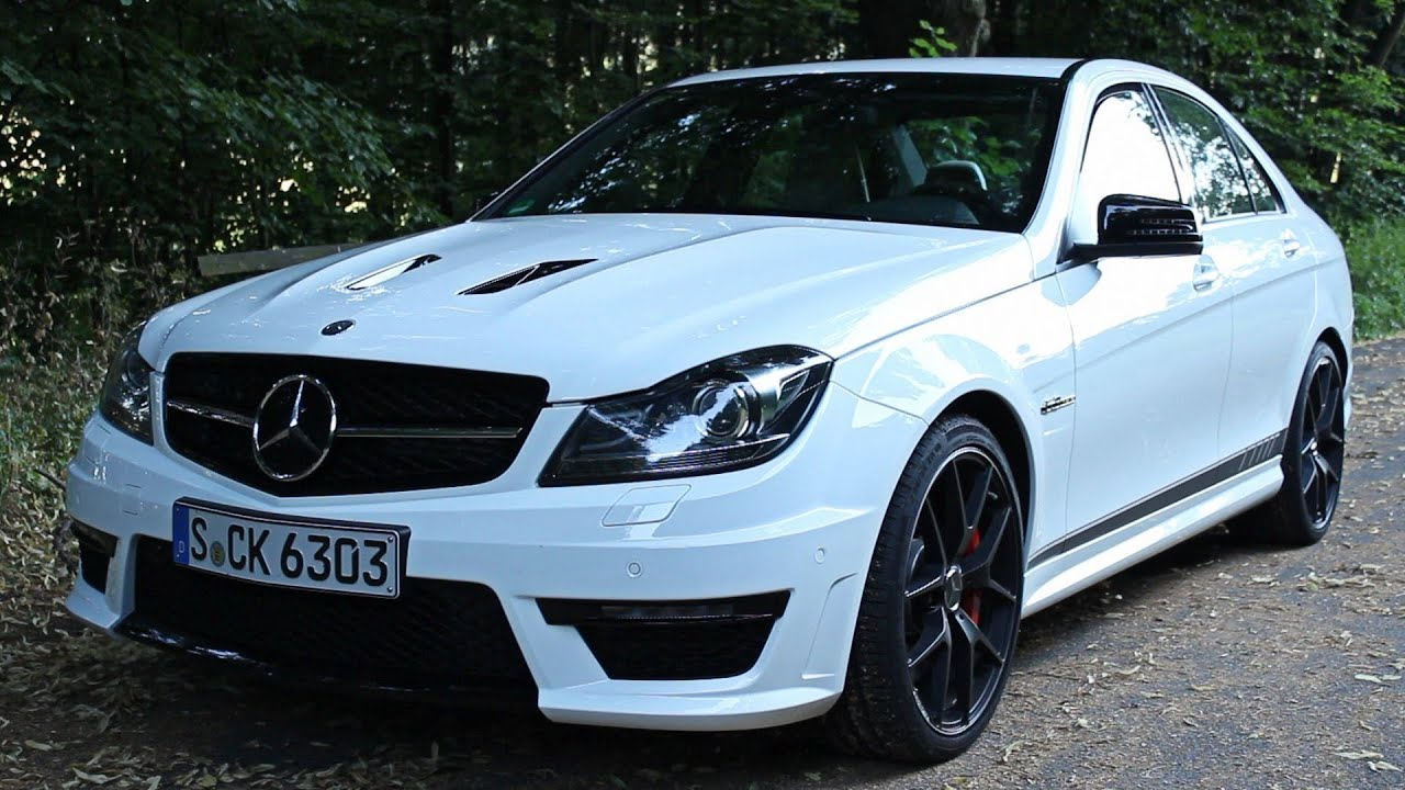 ' 2013 / 2014 Mercedes-Benz C63 AMG Edition 507 ' Test ...