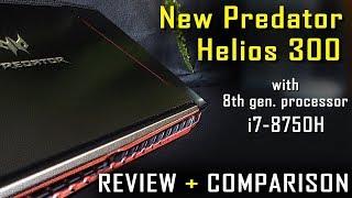 Acer Predator Helios 300 i7-8750H 144Hz - Review + Comparison (2018 model)