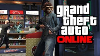 GTA V - How To Use Masks To Remove & Avoid Wanted Level in Grand Theft Auto Online