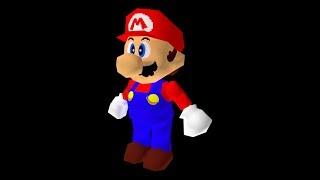 Super Mario 64 - Dire Dire Docks low quality