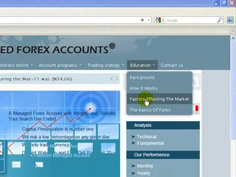 Best managed forex account in dubai
