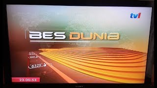 TV1 - BES Dunia opener and various bumpers (March 2018)