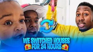 SWITCHNG HOUSES With DUB and WOO WOP For 24  HOURS