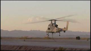 Unmanned K-MAX demonstration at Kaman Aerospace