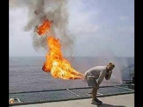 Girls ass on fire