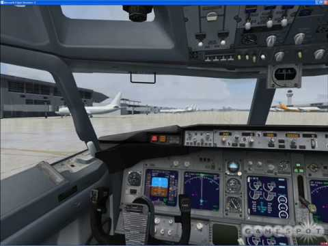 The beauty of Flight Simulator X