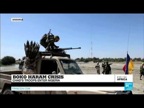 Boko Haram crisis: Chad's troops enter Nigeria to combat militants