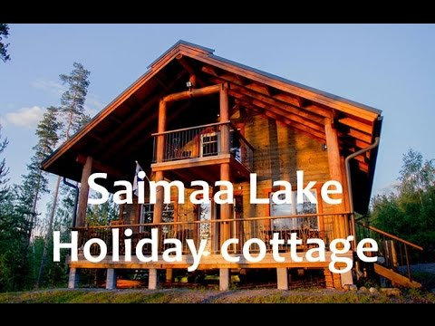 Finland cottages and cabins: ID-S067. Saimaa lakeside villa for rent. Finland cottage holidays