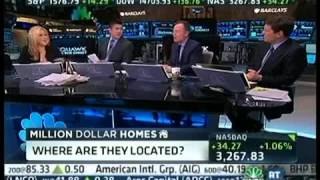 Dolly Lenz on CNBC's Squawk on the Street with Carl Quintanilla: Million Dollar Homes